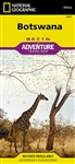 Botswana National Geographic Adventure Map