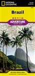 Brazil National Geographic Adventure Map