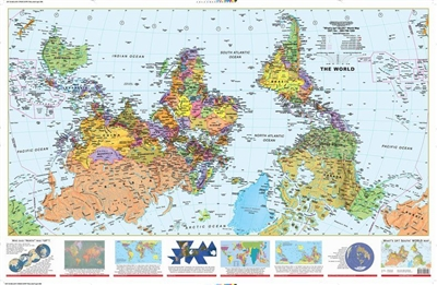 Whats Up South World Map ODT