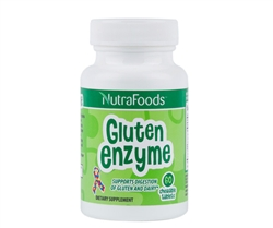 NutraFoods Gluten Enzyme -  Chewable Tablets