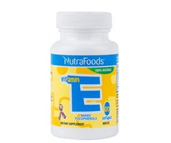 NutraFoods Vitamin E -  Softgels