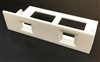 SCSI2SD V5 mounting bracket, white