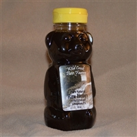 12 oz buckwheat raw honey bear