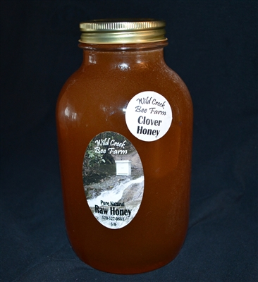 5lb raw clover honey