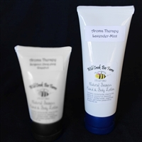 4oz beeswax hand and body lotion