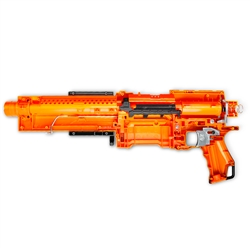 Nerf Elite Alpha Trooper Fully Modded w/Unleashed Solid Stage 1 & 2 Kits