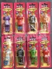 Set of 8 PEZ Body Parts MOC - rare graphic