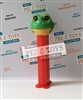 Frog whistle PEZ - vintage