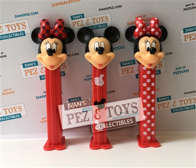 Mickey and Minnie PEZ