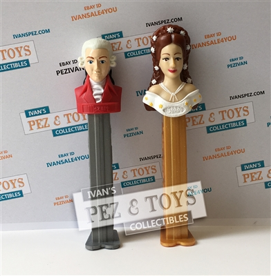 Mozart and Sissi PEZ