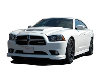 rk sport ram air hood 2011 2013 dodge charger 24013000. Black Bedroom Furniture Sets. Home Design Ideas