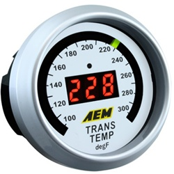 AEM Transmission, Oil or Coolant Temp Gauge