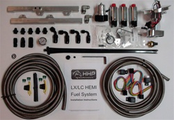 HHP Racing 2005-2010 5.7L HEMI LX/LC Triple Pump Return Style AQP Fuel System HHPFS3PB57