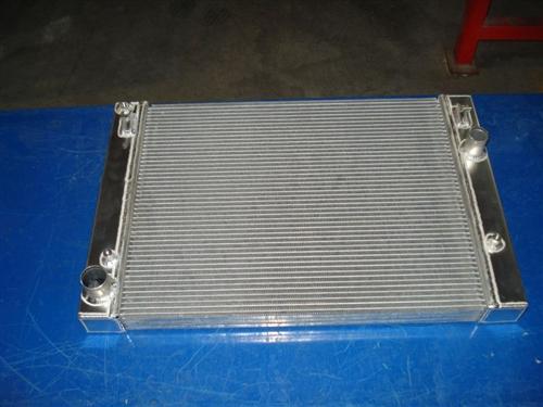 Fluidyne Standard Aluminum Drop In Radiator For 2005 5 7l