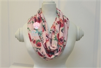 Blush Roses Ladies' Infinity Scarf