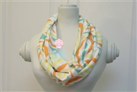 Bright Zebra Ladies' Infinity Scarf