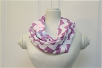 Orchid Chevron Ladies' Infinity Scarf