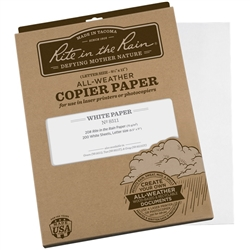 "Rite in the Rain 8511 All-Weather Copier Paper, 8.5"" x 11"" - 200 Sheets"