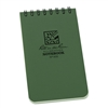 "Rite in the Rain 935 All-Weather Universal Notebook, Green, 3"" x 5"""