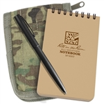 "Rite in the Rain 935M-Kit All-Weather Universal Notebook Kit, Tan/MultiCam, 3"" x 5"""