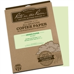 "Rite in the Rain 9511 All-Weather Copier Paper, Green, 8.5"" x 11"" - 200 Sheets"