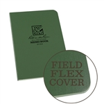 "Rite in the Rain 954 All-Weather Universal Field-Flex Memo Book, Green, 3.5"" x 5"""
