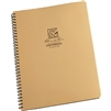 "Rite in the Rain 973T-MX All-Weather Universal Notebook, Tan, 8.5"" x 11"""