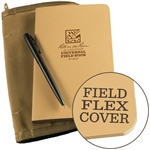 Rite in the Rain 974T-Kit All-Weather Universal Field-Flex Book Kit, Tan