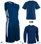Champro Dri-Gear Basketball Muscle Package (3 items) - Custom 1 Color Print