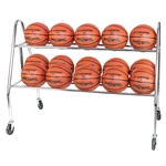 Champro Prism 15 Ball Rack With Casters