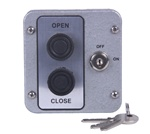 2BXL 2 Button Metal Exterior Keyed Lockout Control Station