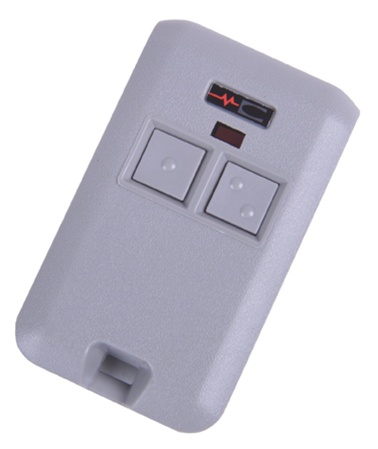 Multi code 3083 two button mini garage door opener transmitter for 10 dip switch garage door opener