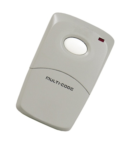 Multi Code One Button Transmitter Remote Control 300mhz 10