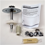 White plastic door opener gear kit