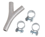 Commercial garage door air hose splitter kit