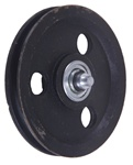 Sheave Pulley with Double Stud 5""