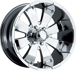 "Hummer H3 Platinum Mako 17"" 17.00 x 8.00 Wheel +10 Offset"