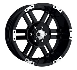 "Hummer H3 Ultra Thunder 17"" 17.00 x 8.00 Wheel +0 Offset"