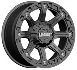 Hummer H2 718B BlackJack Wheel 17x9