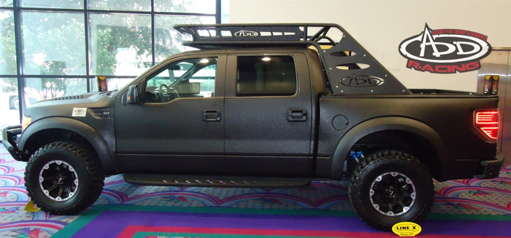 2010 2012 ford f150 raptor full chase rack. Black Bedroom Furniture Sets. Home Design Ideas