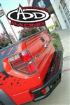 Ford F150 2010-2012 Rear Dimple Bumper  by ADD