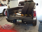 Super Duty/Excursion 1999-2007 Dimple Rear Bumper by ADD