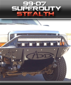1999 – 2004 F-250 Stealth SD Front Bumper by ADD