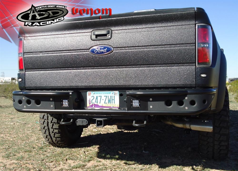 Ford Raptor Venom Rear Bumper By Add
