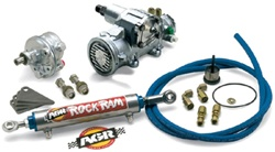 HUMMER H1 Heavy Duty Steering Kit by AGR - Light Valving - 16/13:1 Variable Steering Box