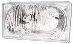 1999-2007 Ford Super Duty Crystal Headlights, Chrome, by AnzoUSA
