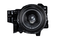 2007-2008 Toyota FJ Cruiser Headlights, Black, by AnzoUSA