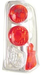 02-06 Escalade Tail Lamps, Chrome, by AnzoUSA