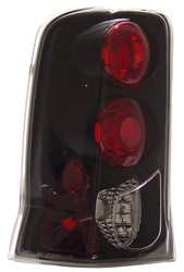 02-06 Escalade Tail Lamps, Black, by AnzoUSA