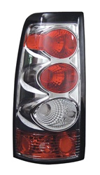 03-06 Silverado Tail Lamps, Chrome, by AnzoUSA